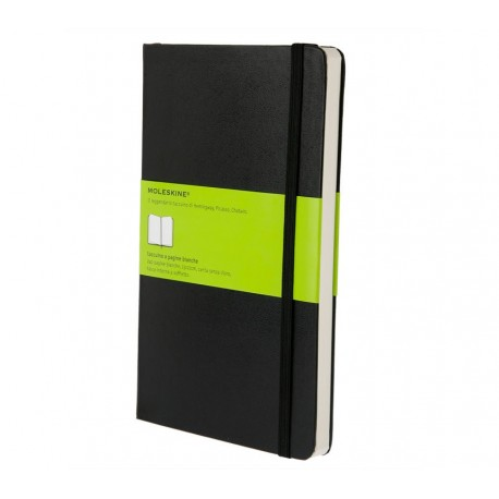 MOLESKINE PLAIN NOTEBOOK BLACK