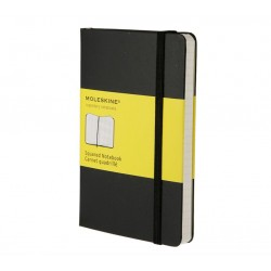 MOLESKINE SQUARED NOTEBOOK BLACK