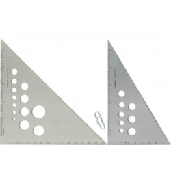 CALIBRATED ALUMINUM TRIANGLE