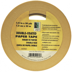 ART ALTERNATIVES DOUBLE-COATED PAPER TAPE