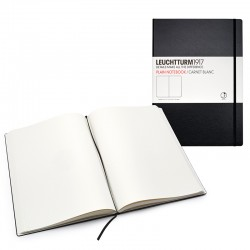 LEUCHTTURM 1917 PLAIN BLACK PAGINATION 233 PÁG