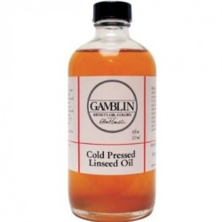 COLD PRESSED LINSEED OIL GAMBLIN