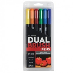 TOMBOW DUAL BRUSH SET 6