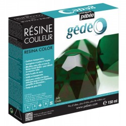 PEBEO KIT RESINA 150 ML JADE