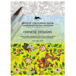 PEPIN ARTIST COLOURING BOOK CHINESE DESIGSN