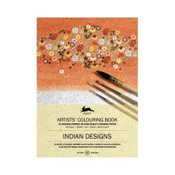 PEPIN ARTIST COLOURING BOOK INDIAN DESIGNS