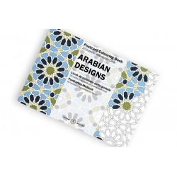 PEPIN POSTCARD COLOURING BOOK ARABIAN DESIGNS