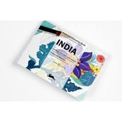PEPIN POSTCARD COLOURING BOOK INDIA