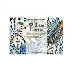 PEPIN POSTCARD COLOURING BOOK WILLIAM MORRIS