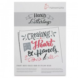 HAHNEMUHLE HAND LETTERING 170 GR 25 SHEETS