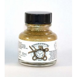 1005283 FRASCO TINTA WN 14ML GOLD-METALLIC BRONZE
