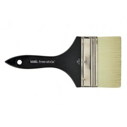 BRUSH LARGE FLAT SHORT HANDLE 4 INCH LIQUITEX