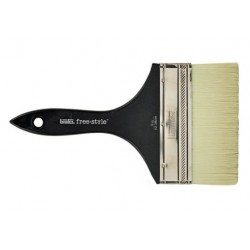 BRUSH LARGE FLAT SHORT HANDLE 6 INCH LIQUITEX