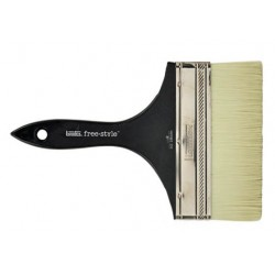 BRUSH LARGE FLAT SHORT HANDLE 8 INCH LIQUITEX