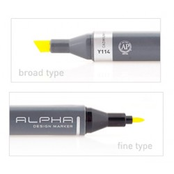 ALPHA DESIGN MARKER