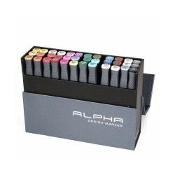 ALPHA DESIGN MARKER 36 COLOR SET