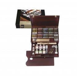 OIL COLOR BOX EXCELLENT REMBRANT