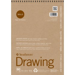 STRATHMORE DRAWING 45,7 X 61 CMS 104 GRS 40 HJS