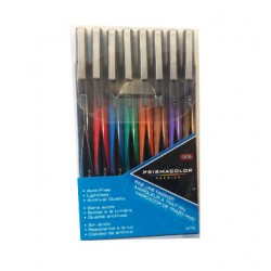 PRISMACOLOR PREMIER ILLUSTRATION MARKERS FINE LINE-8/SET