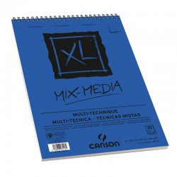 CROQUERA CANSON XL MIX MEDIA 300 GR. 30 H.