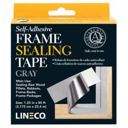 FRAME SEALING TAPE, SELF ADHESIVE, GRAY 3,5 X 1000 LINECO