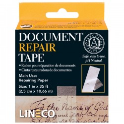DOCUMENT REPAIR TAPE 2,5 CM X 29,87 MTS