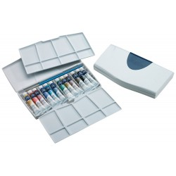 Set WaterColours Cotman 8 ml estuche blanco