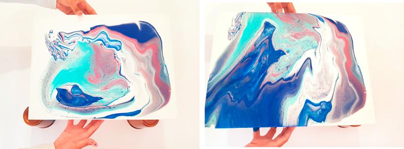arte fluido pouring medium